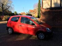 Toyota Yaris 1.0 'S' (51) Superb Unspoiled Condition New MOT Very Low Insurance!