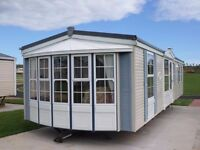 2003 Atlas Image Super static caravan for sale at Chesterfied Country Park in Berwickshire