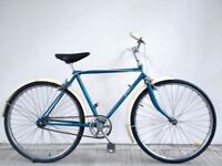 """SALE!!! (2618) 24"""" 18"""" RALEIGH SINGLE SPEED TOWN CITY BIKE BICYCLE Age: 11+, 145-160cm"""