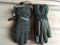 Marmot Black Gloves