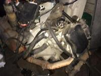 Gilera Vxr 180 engine with full loom