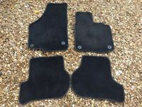 Genuine VW Golf Front and Rear Mats for MK5 and Mk6 GTI TDI GT GTD TSI R32 R Bluemotion 2004-2013