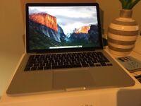 MacBook Pro (Retina, 13-inch, Mid 2014) i5, 8GB Ram, 128GB SSD