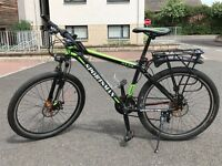 Sportsman Fly370 Mountain Bike and accessories (helmet, bottle, lock, saddle bag, pump, tools, etc)