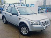LAND ROVER FREELANDER 2.2 TD4 S 5d 159 BHP A GREAT EXAMPLE INSIDE AND OU (silver) 2008