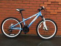 "Carrera Luna Mountain Bike 24"" - Baby Blue & White"