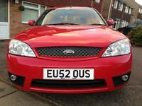 Ford mondeo zetec s 2.5 v6 24 valve stunning not st diesel focus rs turbo ghia may px swap