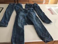 Boys Aged 7-8 Jeans Bundle. Excellent condition. Never worn.