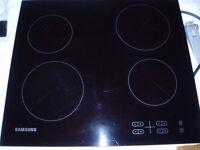 Samsung Electric Ceramic Hob, Black. C61R2AEE