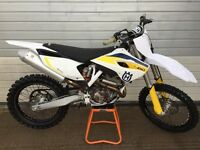Husqvarna fc 350 2015 model motocross