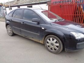 BREAKING FORD FOCUS 2006 BLACK - ALL SPARES AVAILBLE - DOOR? TAILGATE? BUMPER? WING? HUB? WHEEL?