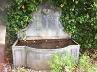 Garden Galvavised Water Trough