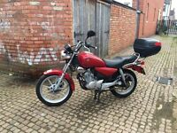 YAMAHA YBR 125 Red Custom FOR SALE