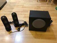 Logitech X-230 Speakers AS NEW