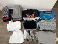 Boys clothes bundle( next, gap, John Lewis & mayoral)