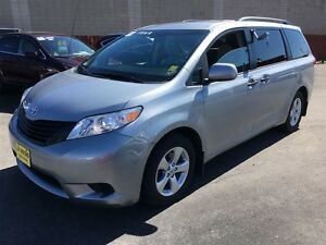2014 Toyota Sienna Automatic, Third Row Seating, Only 58,000km