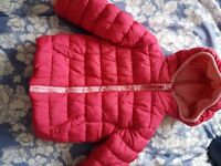 Mothercare baby girl jacket 12-18 months