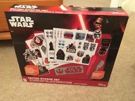 Star Wars Tattoo Sticker Set