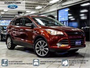 2014 Ford Escape SE AWD LEATHER NAVI PANORAMIC ROOF  B/UP CAMERA
