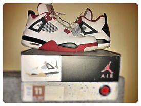 Jordan IV (UK 10) hardly used.