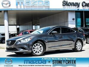 2015 Mazda MAZDA6 GX  AUTO,NEW F/BRAKES+TINTED,1 OWNER,ACC FREE!