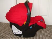 Excellent!!! RED Chicco Keyfit Car Seat 0+ (0-13 kg)
