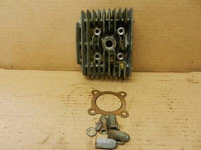 1966 Yamaha Twin Jet 100 L1 / Left Cylinder Head  / Motor Piston Gasket