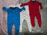 0-3 sleepsuits baby boys