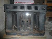 wood burning stove fire (Strax 4000)