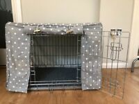 Dog Crate & Cover 36 x 24 x 26 inch