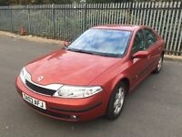 2003*RENAULT LAGUNA 1.8 PETROL*ONLY 7000 MILES*2 OWNERS*SERVICE HISTORY*LONG MOT