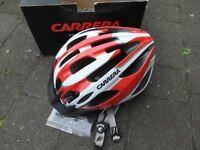 Carrera adult bike helmet (new and unused)