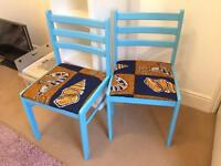 4 Funky chairs