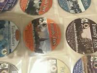 Family tree disc x 10