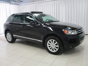 2014 Volkswagen Touareg VW CERTIFIED! Highline! Leather! Navigat