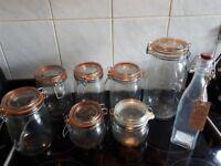 Jars - Sweet/Storage jars.