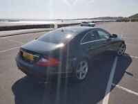 Mercedes CLS 320 FULL SPEC ONLY 99K LATE 2005 FSH MINT RELUCTANT SALE