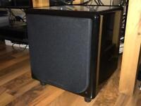 Wharfedale Moviestar DX-1 Subwoofer in black REDUCED