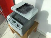 Ricoh C240 SF Colour Lazer Printer - RECENT NEW COLOUR TONER CARTRIDGES