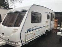 STERLING ECCLES EMERALD- 2003- 4 BERTH- END CHANGING ROOM