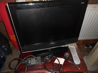 bush 19 ins tv built in free view spares or repairs £10