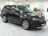 Range Rover sport chauffeur hire, chauffeur driven Range Rover London