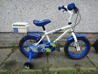 Childs bikes with stabilisers, suit 2 to 5 year old £25 each Raleigh Atom & Apollo Police