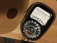 Professional Western Master 111 Exposure Meter
