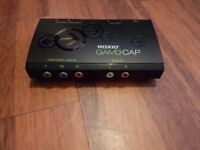 Roxio Game Cap HU348-E Game Capture Device PS3 Xbox 360 W/ USB Cable COMPONENT
