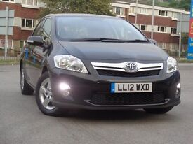 TOYOTA AURIS 1.8 T4 1 C.O OWNER FULL SERVICE HISTORY 2 REMOTE KEYS H.P.I CLEAR