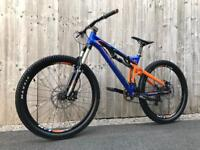 Saracen Kili Flyer 121 full Suspension Enduro/Downhill Bike, LIKE NEW, HIGH SPEC, FOX
