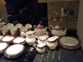 Beautiful China tea service 128 pieces Duchess China Winchester