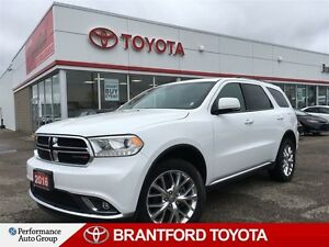 2016 Dodge Durango Limited, AWD, Balance of Factory Warranty, Le
