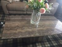 Orocco marble coffee table